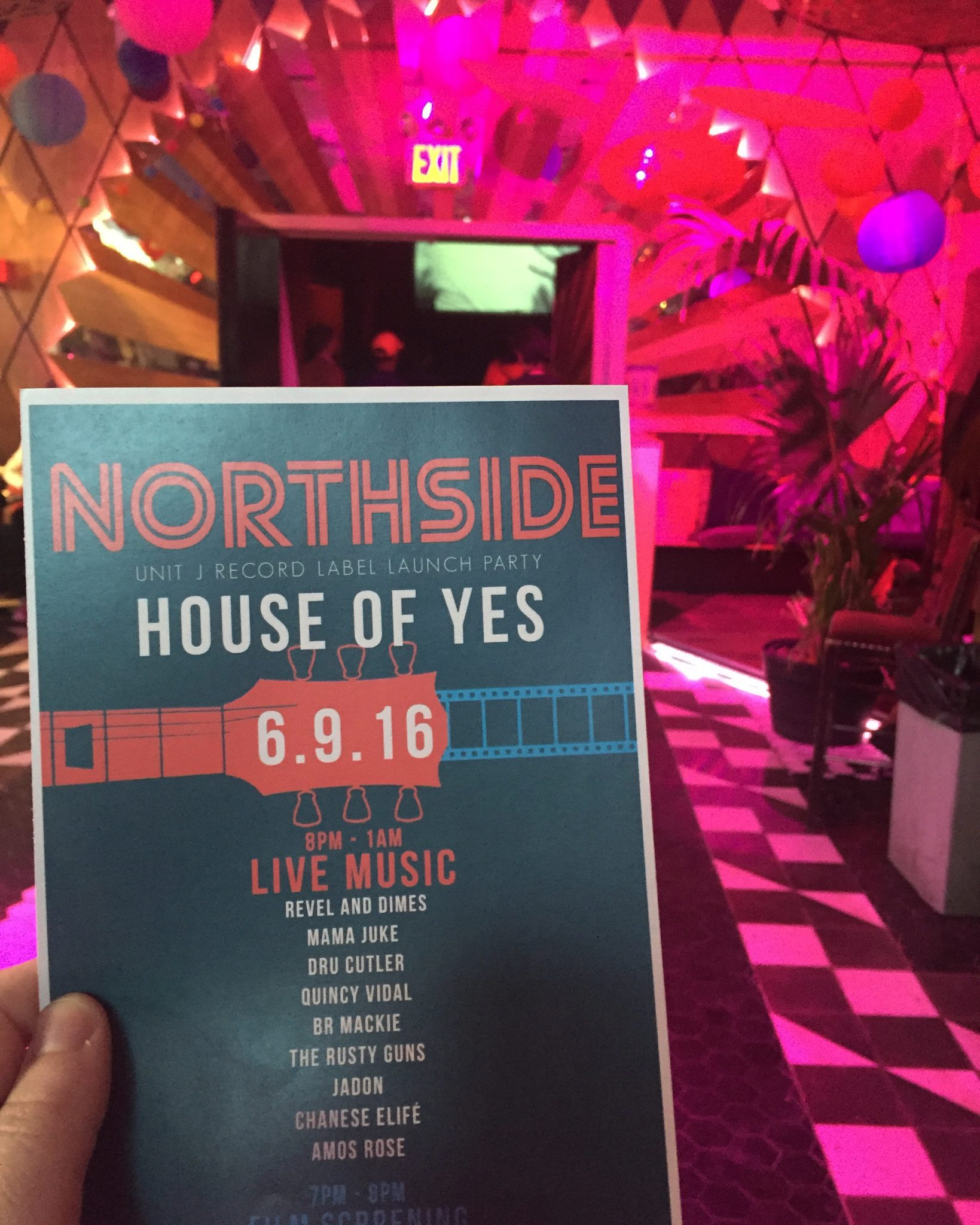 Unit J Launch at House of Yes