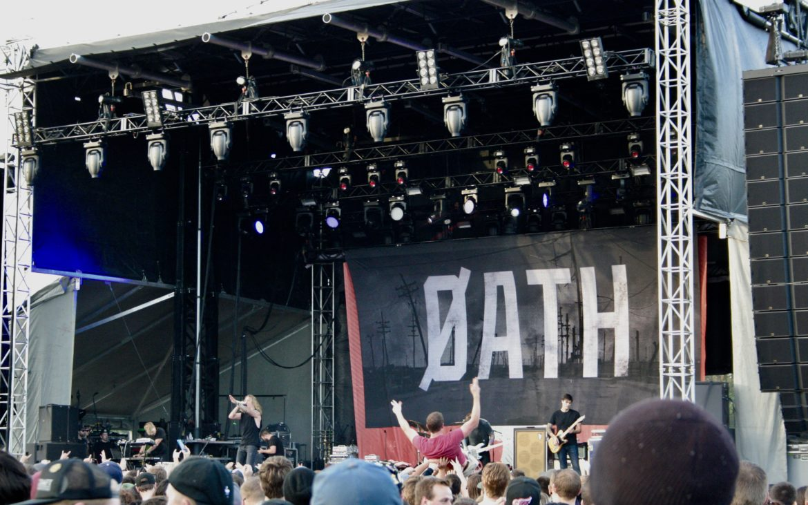 Self Help Festival Detroit 2017 Underoath