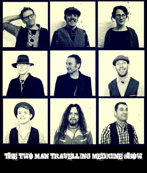 two man travelling medicine show