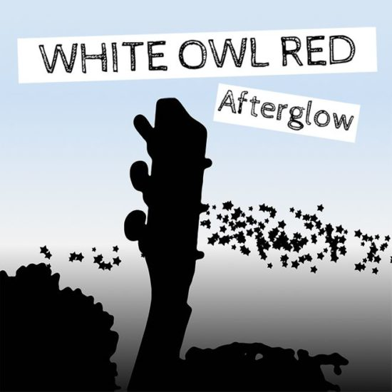 Whte Owl Red